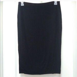 Vince camuto stretch pencil skirt - black